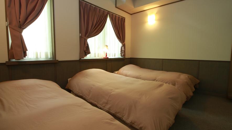 【トリプル】清潔感のあるお部屋でゆっくりお休みください
