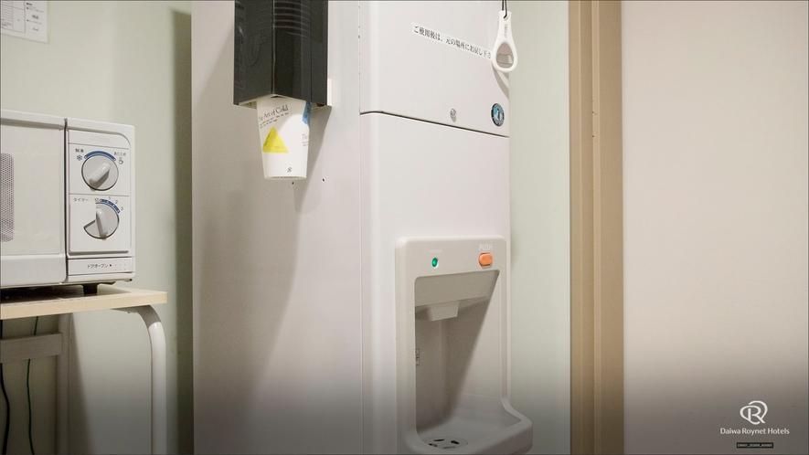 自販機コーナー 製氷機