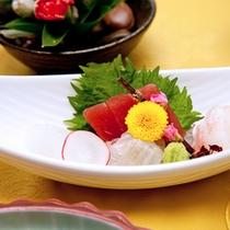 季節の旬のお魚を料理長が自信を持っておすすめ。