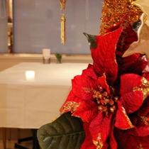 1Fレストラン「ラフィネ」クリスマスの夜を演出します。。(イメージ)