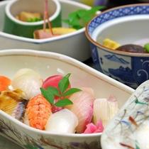 【寿司定食】季節の旬のお魚を料理長が自信を持っておすすめ。