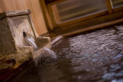 檜風呂の源泉