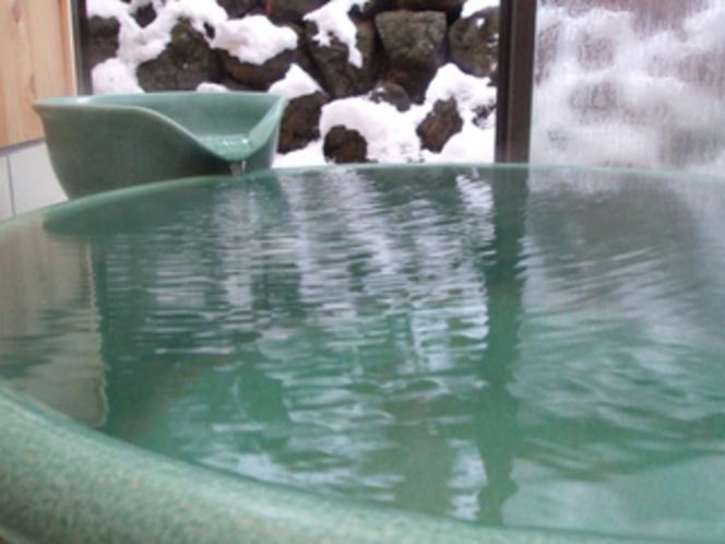 陶器風呂1