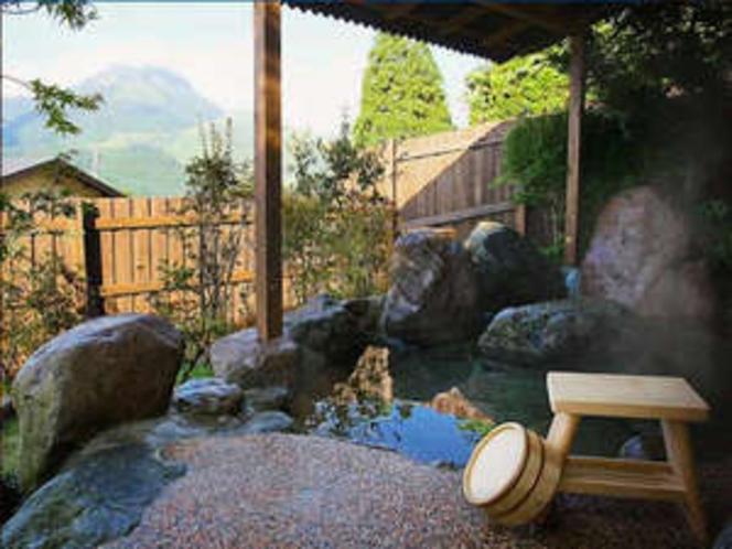 【藤の間】客室露天風呂