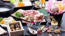那須三元豚 と 米小豆会席 心を込めておもてなしをする「三位一体」となった会席料理です~