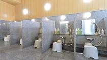温泉大浴場 洗い場