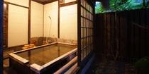 檜風呂夕景