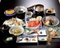 川魚天ぷら付き懐石