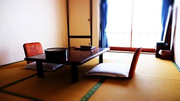 【和室2F・6畳・トイレ共用(洋式)】部屋食・貸切風呂♪
