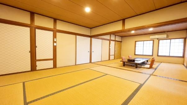 【和室2F・16畳・洋式トイレ付】部屋食・貸切風呂利用OK♪