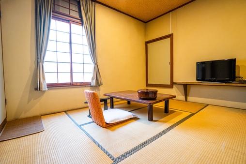 【和室2F・6畳・洋式トイレ付】部屋食・貸切風呂利用OK♪