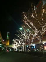 下関駅のイルミネーション