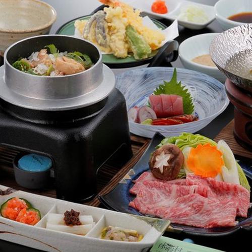 福島牛しゃぶしゃぶ料理