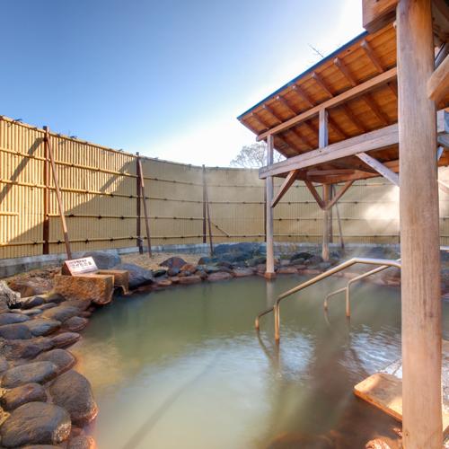 露天風呂:天然温泉こがねの湯