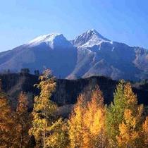 *秋の磐梯山