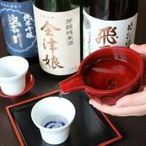 レストランにて会津地酒を取りそろえております♪