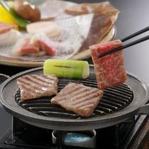 食べ応え満点米沢牛鉄板焼き