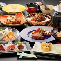 会津の食材にこだわった特別会席