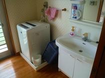 洗剤付洗濯機