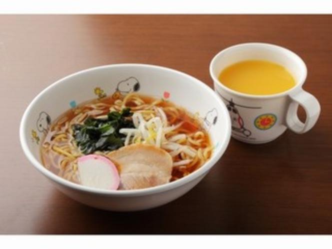 お子様醤油ラーメン(390円)