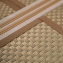 畳が暖かい、落ち着いた雰囲気の空間
