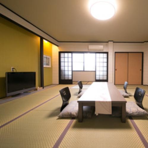 館内で一番広めのお部屋