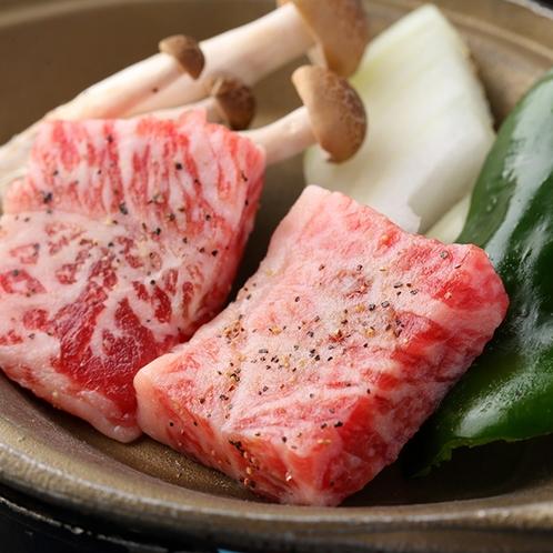 ・陶板焼きミニステーキ/一例