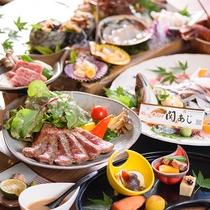 ・海鮮満喫&和牛ステーキ/一例