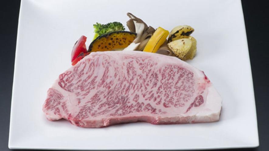 一品料理 栃木県産黒毛和牛ステーキ300g