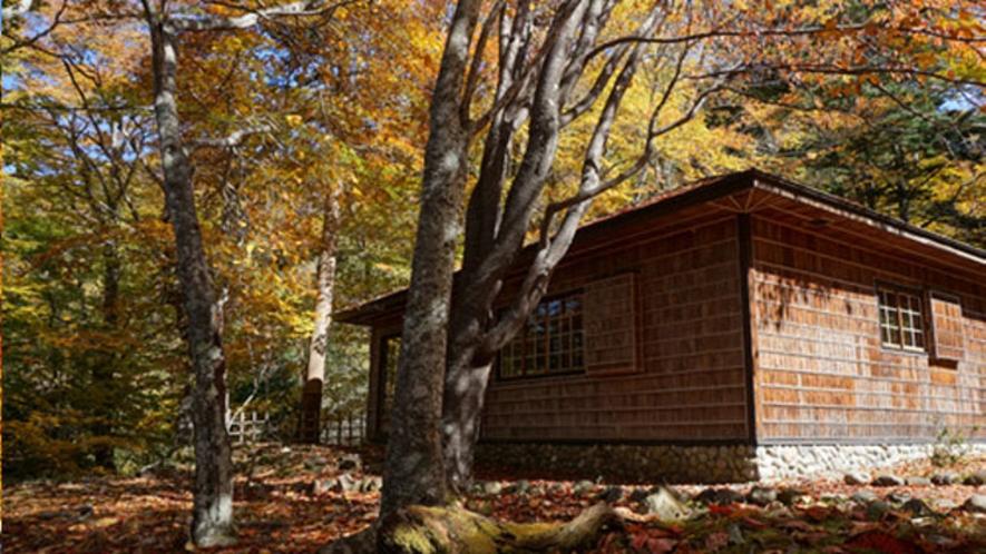 イタリア大使館別荘記念公園の紅葉 10月下旬
