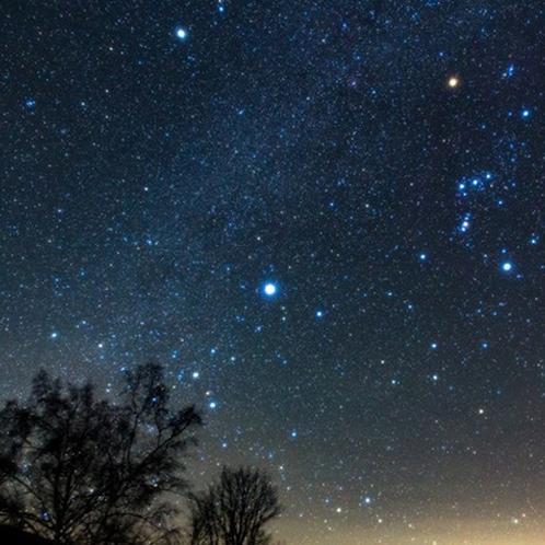 乗鞍の冬の星空 晴天時は最高のおもてなしです♪