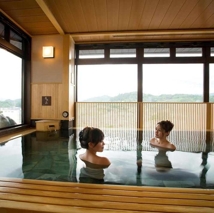 【大浴場】展望内風呂