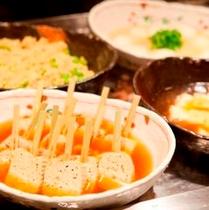 【バイキング】豆腐料理