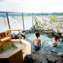【大浴場】展望露天風呂