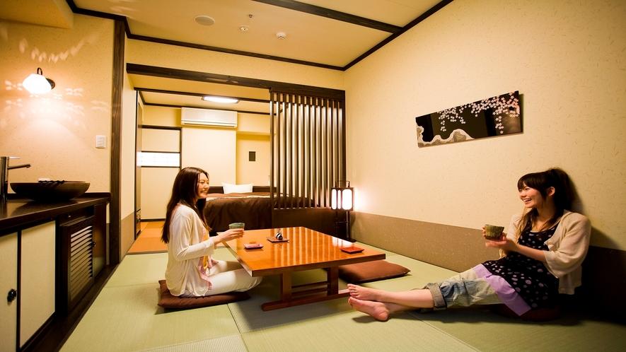 【客室一例】和洋室