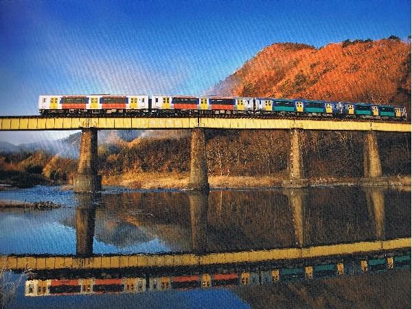 久慈川と水郡線 1