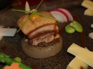 薔薇豚角煮