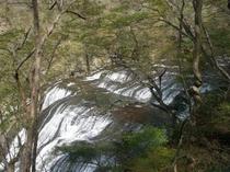 袋田の滝上段