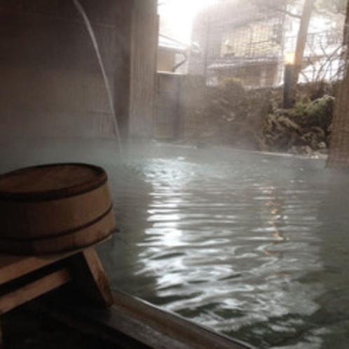 冬の源の湯