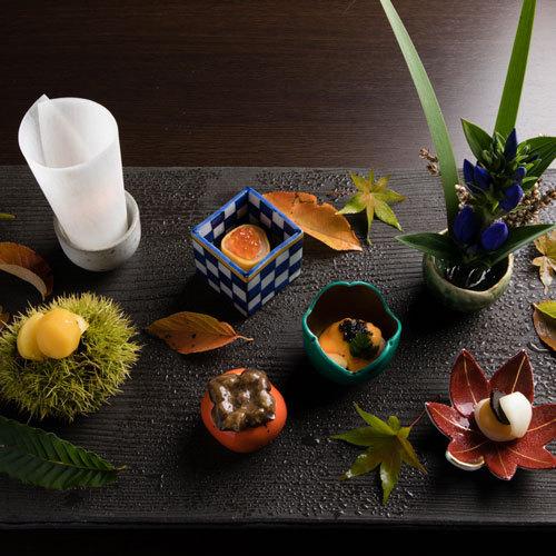 ◆【万里荘】-夕食イメージ-上質で上品な設えの中、日本料理の起承転結のある物語をお楽しみくださいませ