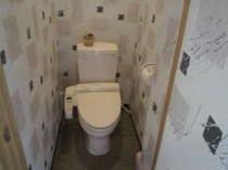 全室ウォシュレット付きトイレ