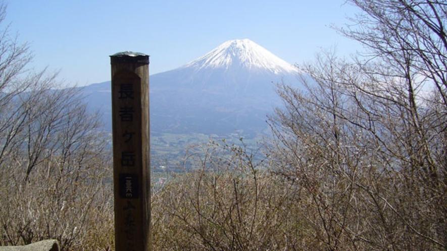 長者ケ岳からの眺望