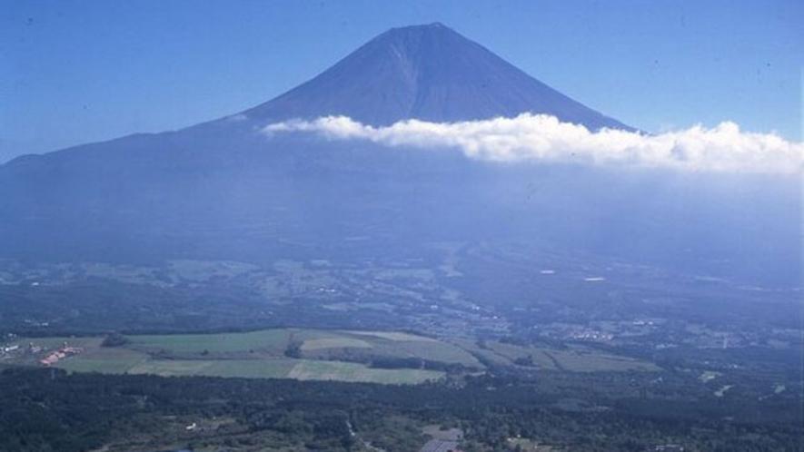 空から見た休暇村富士