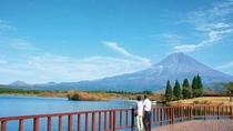 田貫湖畔からの富士!