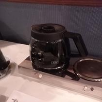 朝食ドリンクコーナーコーヒー