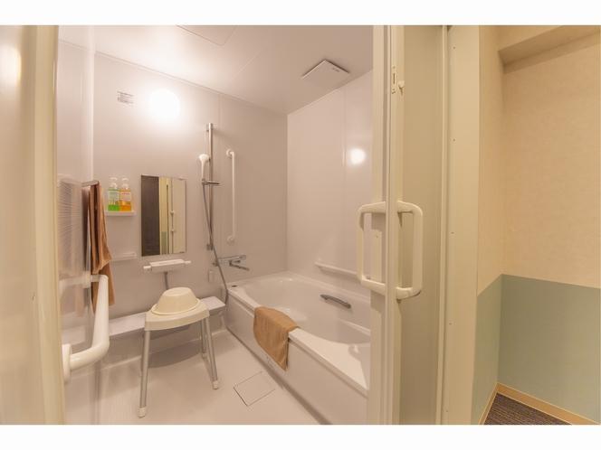 バリアフリーのお部屋はバス・トイレ別です