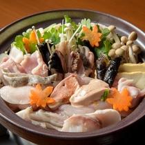 あん肝がキメテあっさりくい味の伝統のあんこう鍋