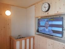 大浴場(サウナにはテレビも設置!)