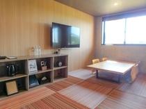 【天然温泉付き洋室】和モダンジュニアスイート55平米