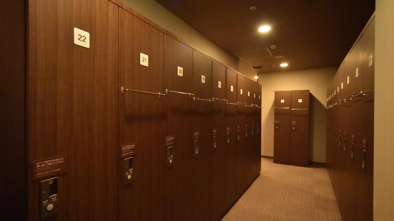 ◆男性限定!グローバルキャビン(カプセル) ロッカールーム